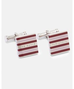 Ted Baker | Striped Cufflinks Color
