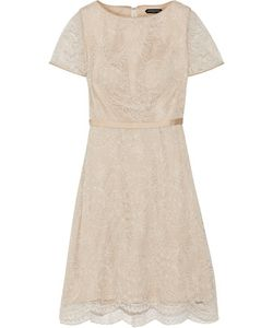 Catherine Deane | Belle Satin-Trimmed Corded Lace Dress