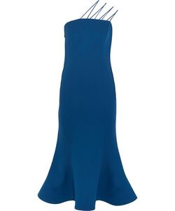 Vika Gazinskaya | Silk-Crepe Dress