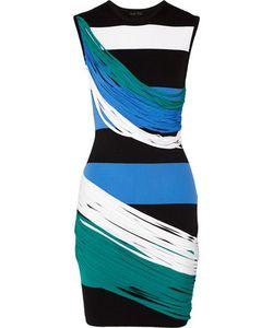 Ohne Titel | Striped Piqué Mini Dress