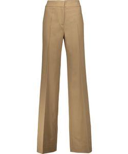 Derek Lam | Georgia Wool-Blend Twill Wide-Leg Pants