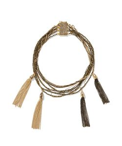 Rosantica   Tone Stone Necklace One Size