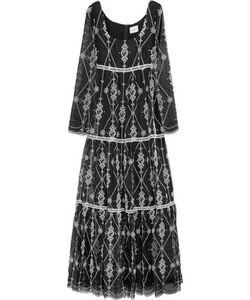 Erdem | Deborah Embroide Silk-Organza Gown