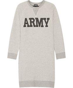 Nlst | Printed Cotton-Blend Terry Mini Dress