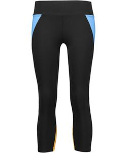 Live The Process | Color-Block Cropped Stretch-Supplexreg Leggings