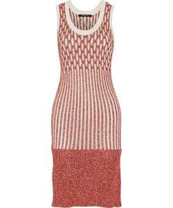 Derek Lam | Striped Open-Knit Dress
