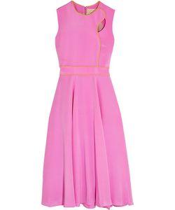 Roksanda | Ally Cutout Silk Midi Dress