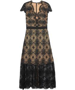 Catherine Deane | Garland Guipure Lace Midi Dress