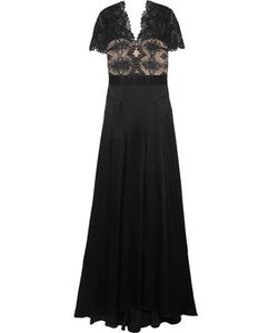 Catherine Deane | Gazelle Guipure Lace And Satin Gown