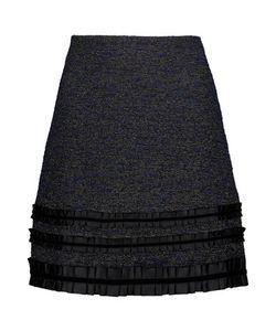 Raoul   Metallic Tweed Mini Skirt