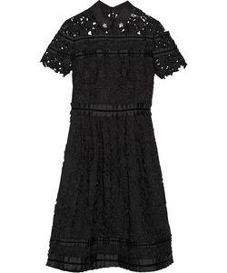 Raoul   Embellished Guipure Lace Dress
