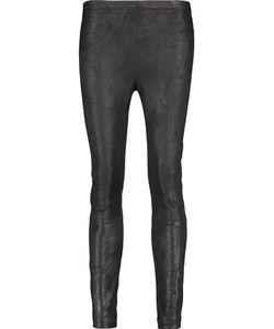Kaufmanfranco | Brushed-Suede Skinny Pants