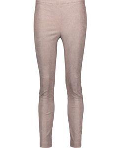 Kaufmanfranco | Stretch-Suede Skinny Pants