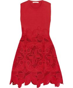 Antonio Berardi | Knitted And Guipure Lace Dress