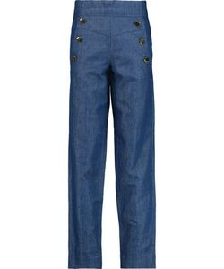 Co | High-Rise Straight-Leg Jeans