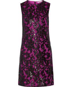 Diane von Furstenberg | Kaleb Appliquéd Lace And Sequined Stretch-Crepe Dress