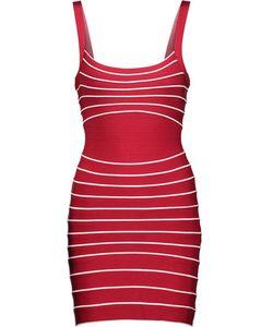 Hervé Léger | Julietta Striped Bandage Mini Dress