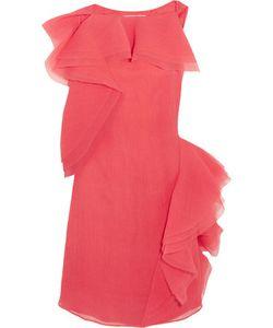 Jason Wu | Ruffled Crinkled Silk-Blend Organza Dress