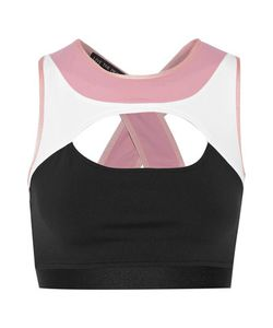 Live The Process | Contour Color-Block Cutout Stretch-Supplexreg Sports Bra