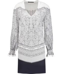 Mother Of Pearl   Hettie Printed Silk Crepe De Chine Dress