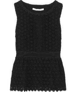 Diane von Furstenberg | Tavita Guipure Lace Cotton Top