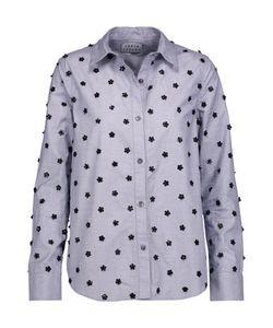 Tanya Taylor | Embellished Cotton-Poplin Shirt