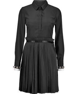 Mother Of Pearl   Hurley Plissé Crepe De Chine Dress