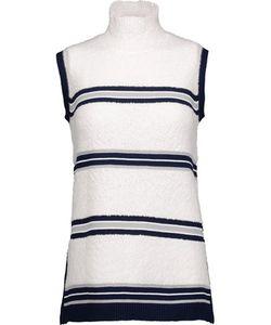 Derek Lam | Striped Wool-Blend Turtleneck Sweater