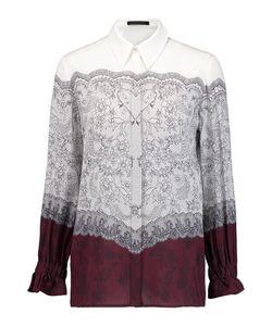 Mother Of Pearl   Ethel Printed Silk Crepe De Chine Blouse