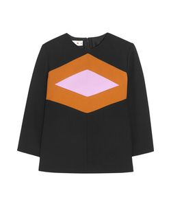 Marni | Wool And Cotton-Blend Crepe Top
