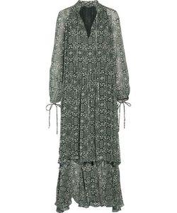 Derek Lam | Ruffledprint Silk-Georgette Gown