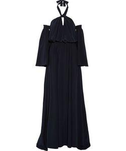 Derek Lam | Off-The Shoulder Silk Halterneck Gown