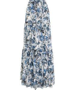Erdem | Sigridprint Silk-Georgette Maxi Skirt