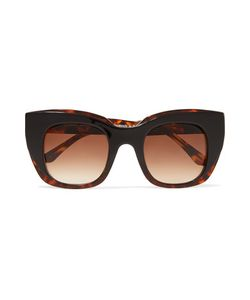 Thierry Lasry | Intimacy Square-Frame Printed Acetate Sunglasses