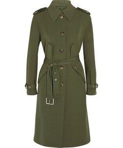 Michael Kors Collection | Wool-Gabardine Trench Coat