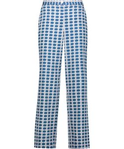 Tanya Taylor | Selby Cropped Printed Silk-Blend Wide-Leg Pants