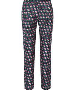 Diane von Furstenberg | Leni Printed Silk-Twill Tape Pants