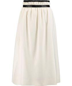 Mother Of Pearl   Eloise Gathe Twill Midi Skirt