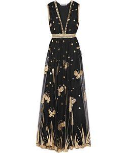 Diane von Furstenberg | Vivanette Embroide Tulle Gown
