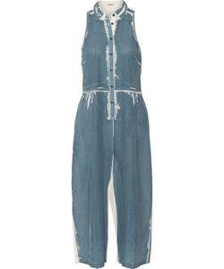 Suno   Printed Silk Jumpsuit
