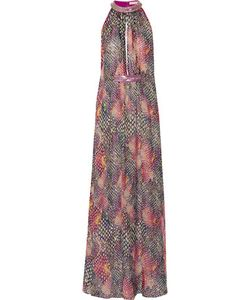 Matthew Williamson | Embellished Printed Silk-Chiffon Maxi Dress