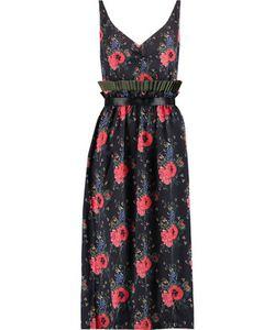 Mother Of Pearl   Leanderprint Silk-Georgette Midi Dress