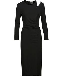 Just Cavalli | Gathe Cutout Cady Dress