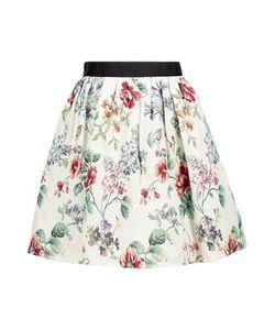 Raoul   Cotton-Blend Jacquard Mini Skirt