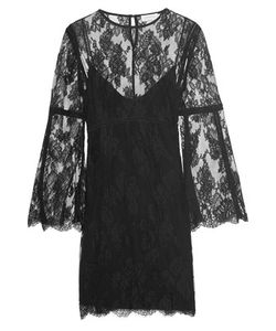Zimmermann | Master Pointelle-Trimmed Lace Mini Dress