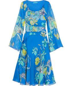 Matthew Williamson | Fla Printed Silk-Chiffon Dress