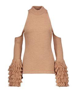 Jonathan Simkhai | Cutout Fringed Wool Sweater