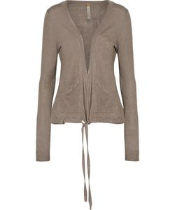 Soyer | Paneled Linen Cashmere And Silk-Blend Cardigan