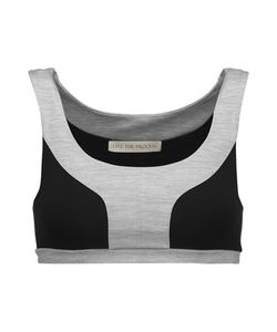 Live The Process | Two-Tone Stretch-Supplexreg Bra Top