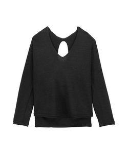 Soyer | Paloma Cutout Ribbed Wool-Blend Sweater